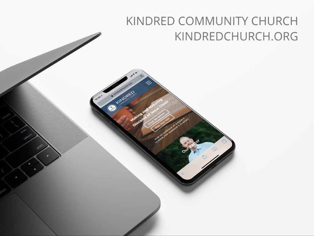 Kindred Church Homepage Mobile